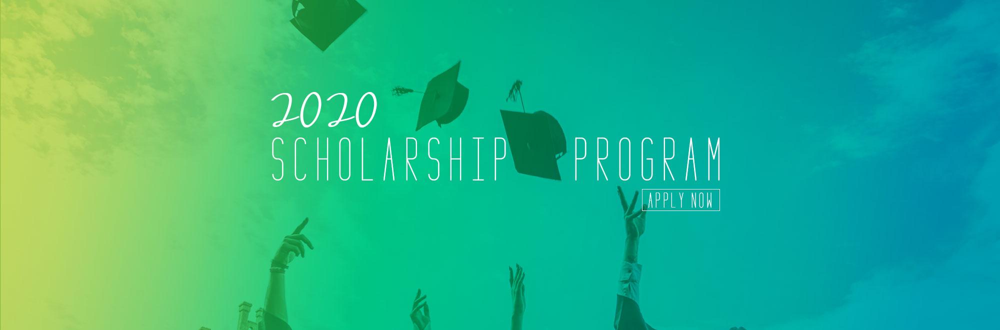 2020 Scholarship banner